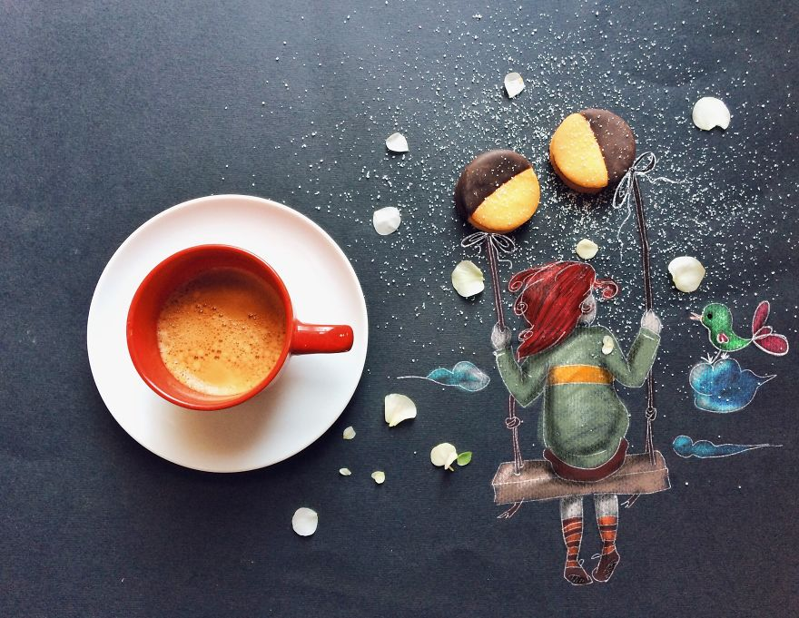 Cinzia Bolognesi , MY Morning Coffee Illustrations