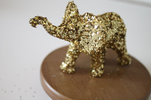 Glitter Elephant, Available At Www.etsy.com/shop/larkindesign