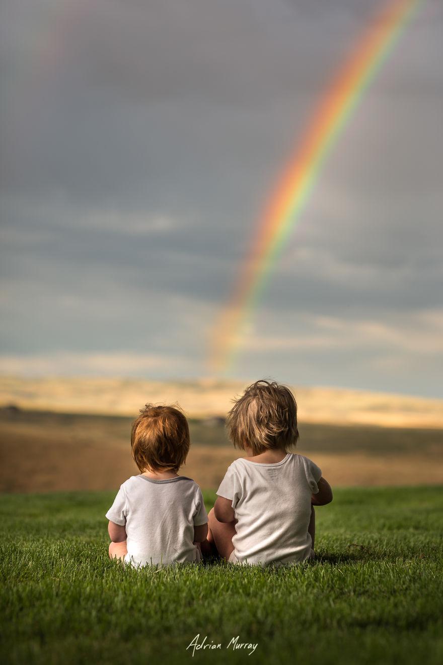 I Document My Children Enjoying Their Idyllic Summer In The Countryside