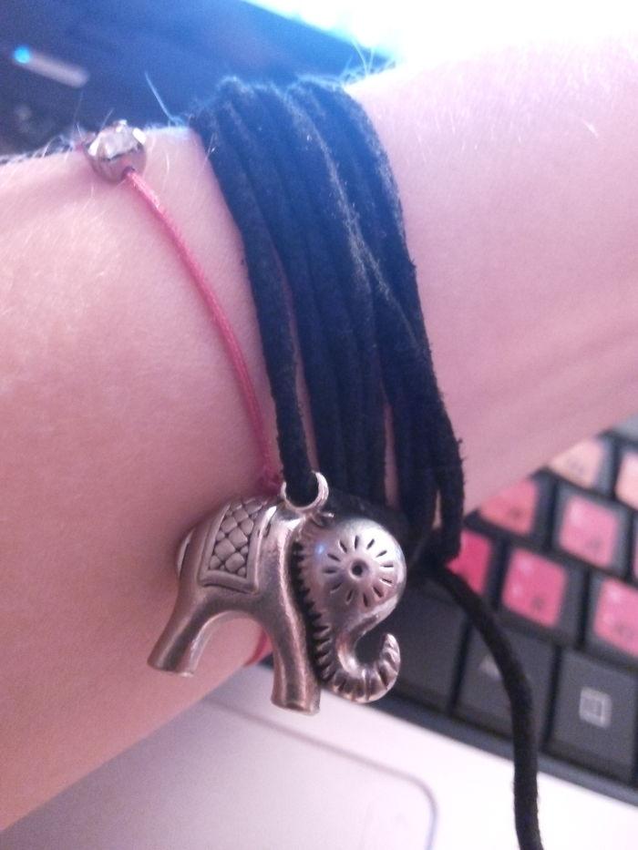 My Bracelet Elephant Bead