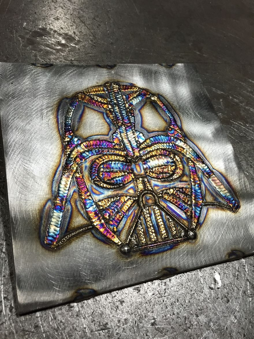 I'm A Self-Taught Welder And Here's My Welding Art