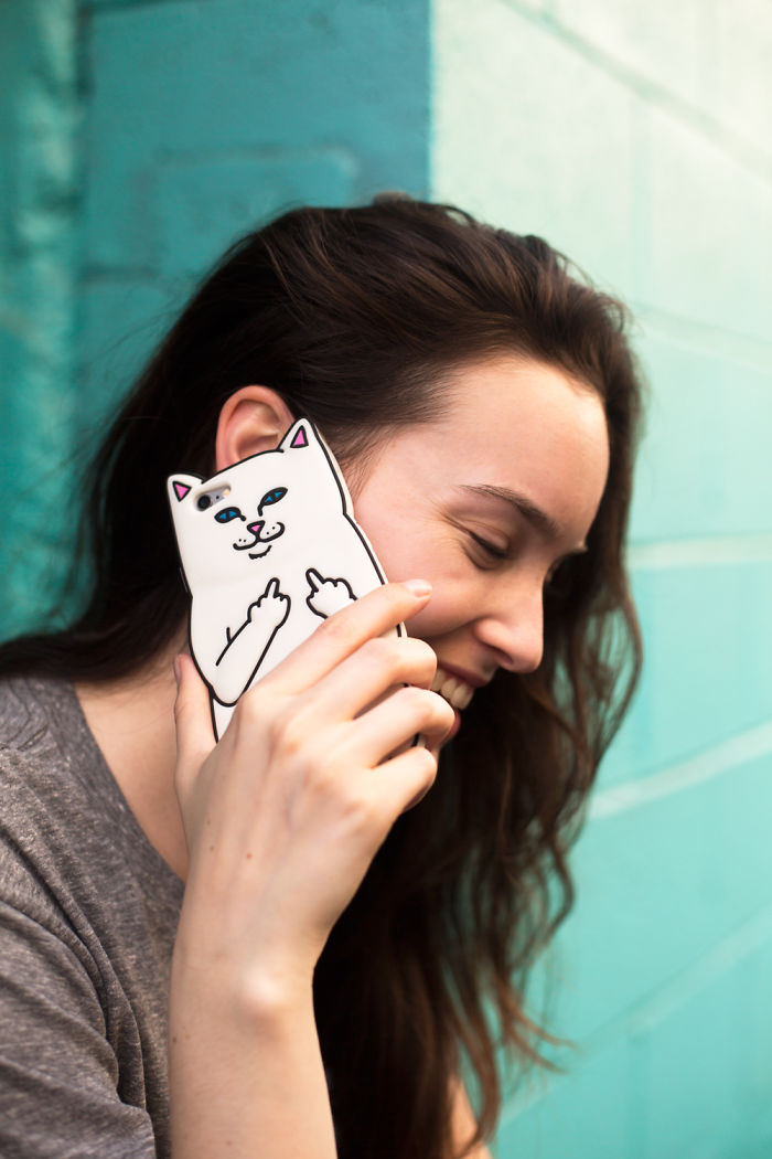 This Iphone Case Makes Sure No One Will Bother You When You Speak