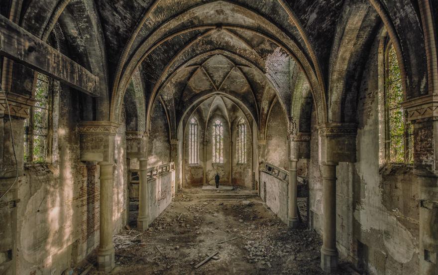 edificios abandonados europa