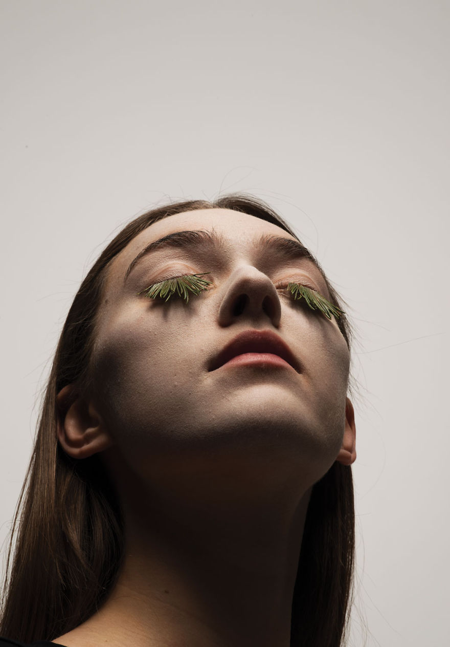 I Create 100% Natural Eyelashes From Plants, Eggs And Snow