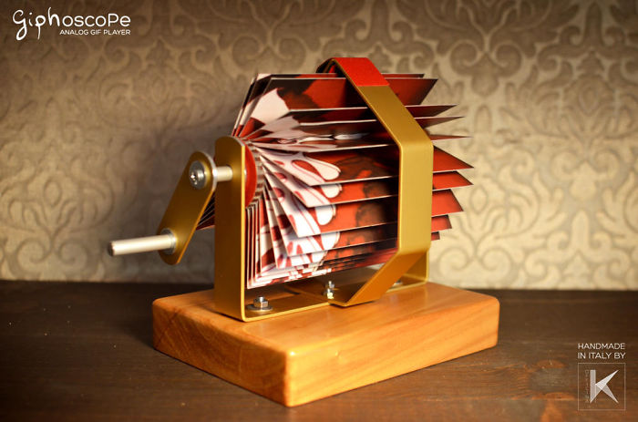 We Created The Giphoscope To Bring Animated GIFS To Real Life
