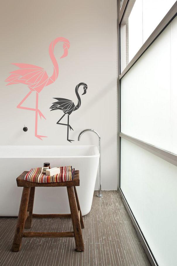 Geometric Flamingos