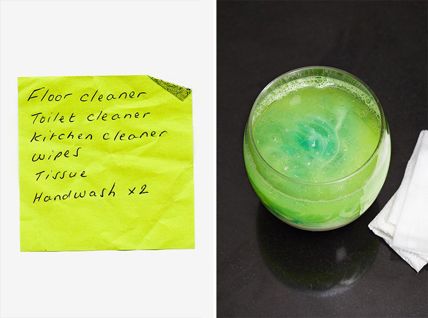Random Shopping List Products Turned Into Strange Meals