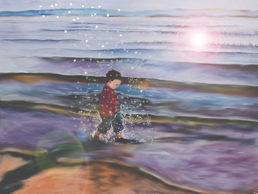 SYrian-Dream-finished__880 - Artists react to the Syrian refugee boy who drowned - World Daily News