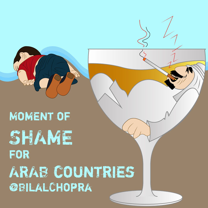 Moment Of Shame For Arab Countries .. By Bilal Chopra ..