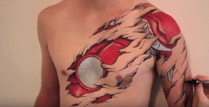 I Unveil The Superheroes Hiding Beneath People's Skin With Bodypaint