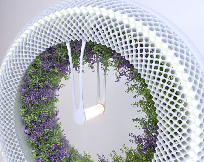 Our NASA-Inspired Green Wheel Lets You Grow Herbs And Salad Indoors