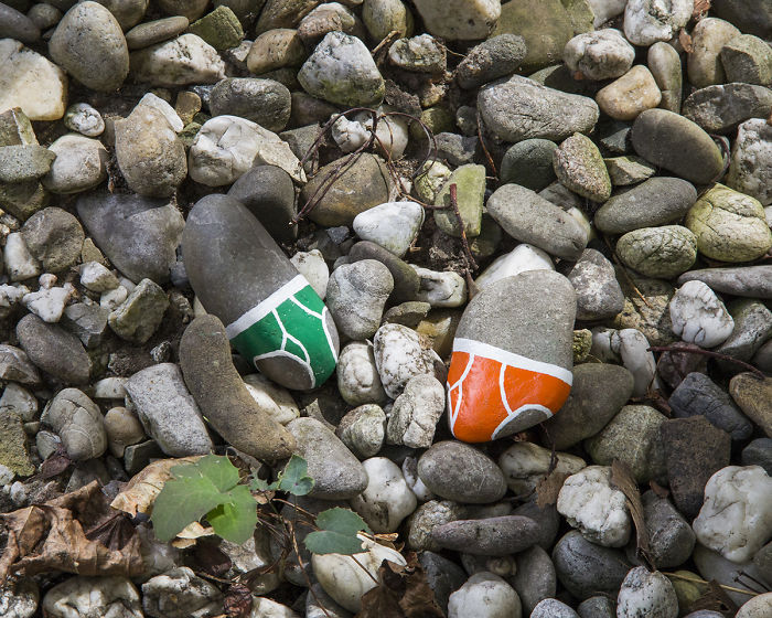I Paint Underpants On Rocks To Criticize Nudity Censorship