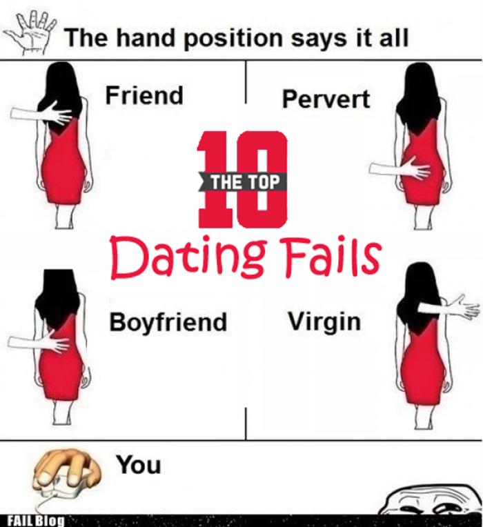 Top Ten Biggest Dating Fails