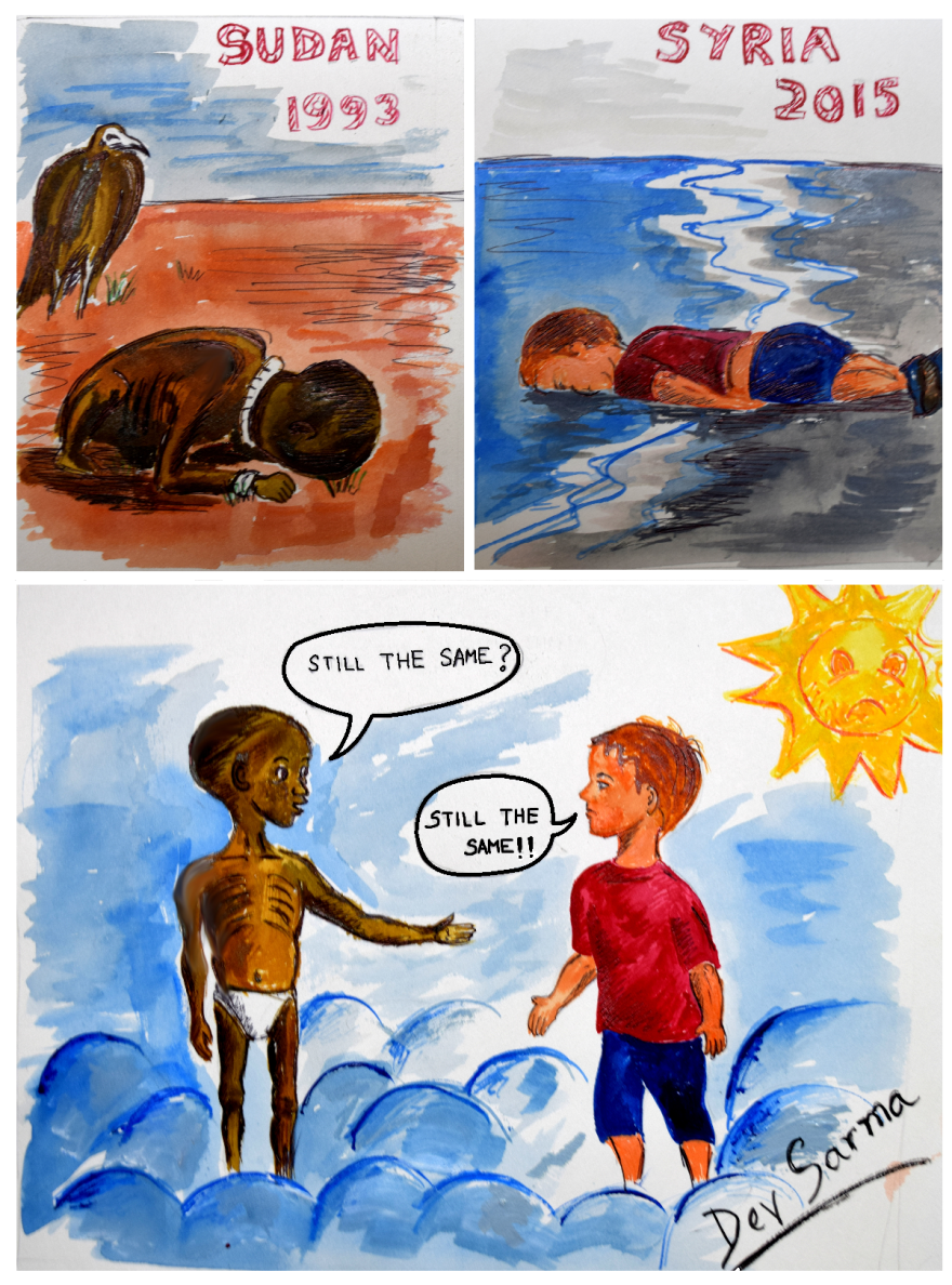 Untitled__880 - Artists react to the Syrian refugee boy who drowned - World Daily News