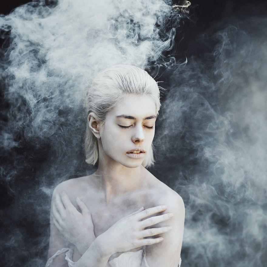 I Use Smoke Bombs To Create Powerful Portraits