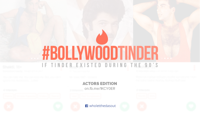 Vintage Bollywood: What If Tinder Existed During The 90's?
