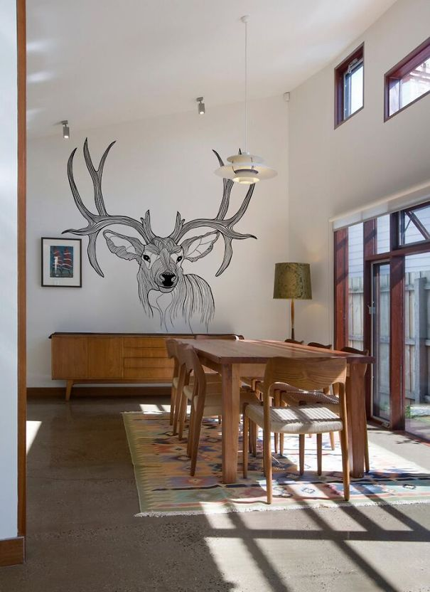 Friendly Deer Visiting Your Dining Room