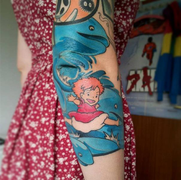 Ponyo Tattoo