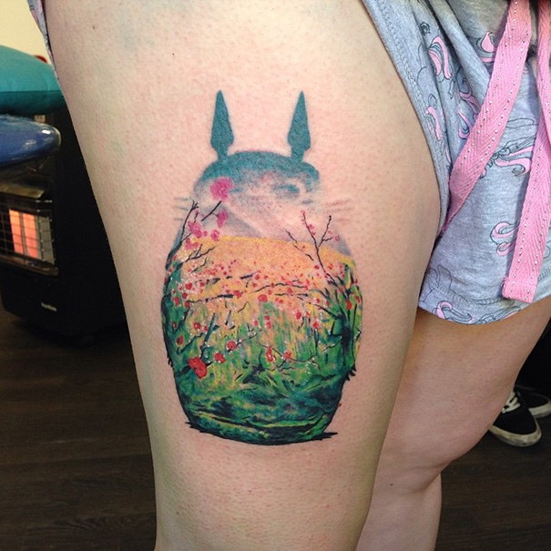 My Neighbor Totoro Tattoo