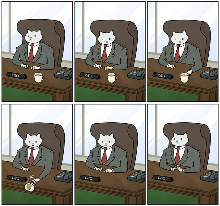 How Your Office Would Look If Your Boss Was A Cat