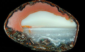 Agate Crystals Look Like Tiny Landscape Photos