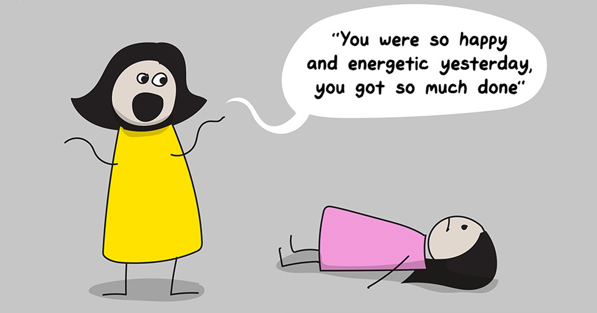 This Comic Perfectly Explains Why Anxiety & Depression Are So Difficult To Fight