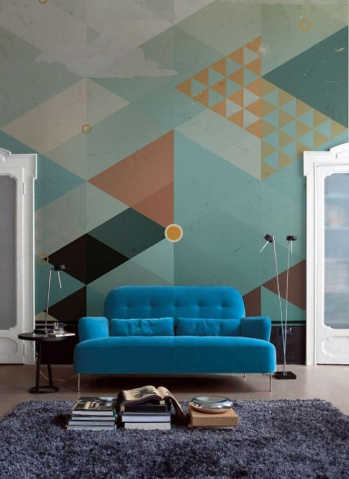 Geometric Shapes In Their Pure Forms, Or How Triangles And Squares Can Influence Our Home