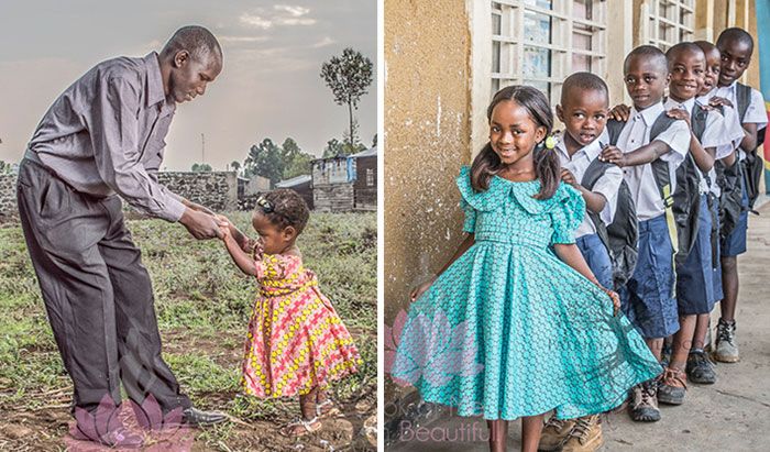 Children Born Of Rape Pose To Show That They're Beautiful And Can Be Loved Too