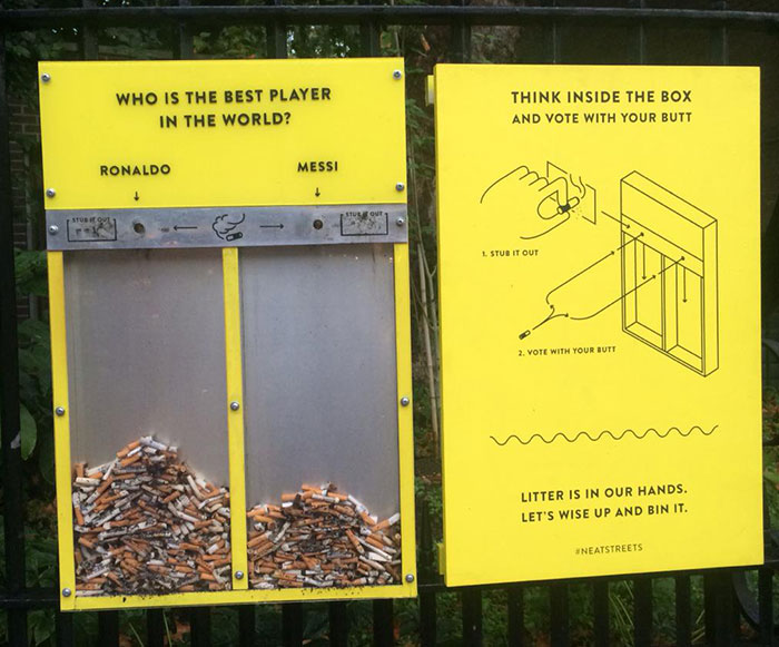 Genius Idea To Stop People From Littering