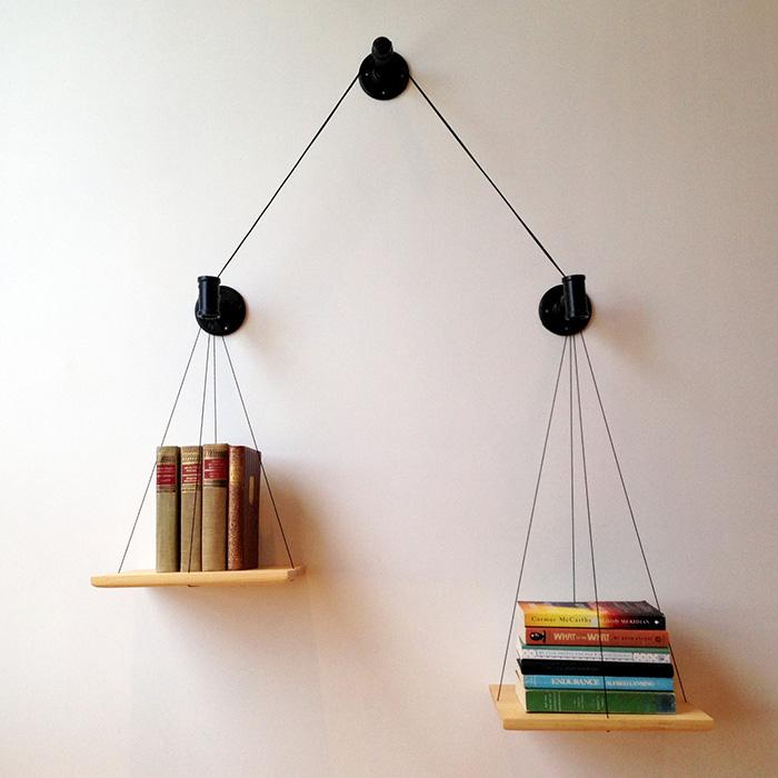 18. Giá sách cân bằng