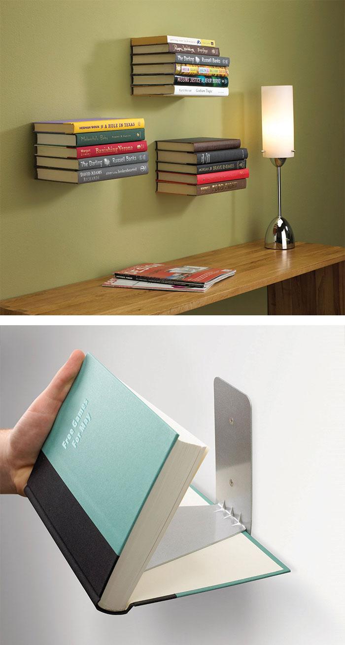 10. Giá sách vô hình