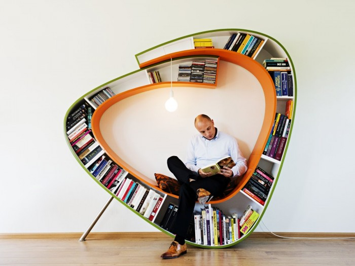 Creative Bookshelf Design : Of the most creative bookshelves ever bored panda