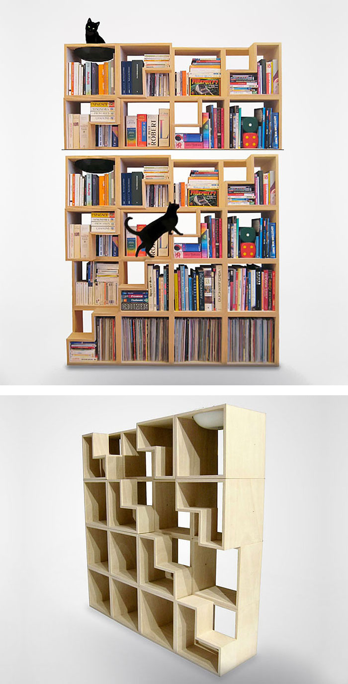 Cat Friendly Bookcase