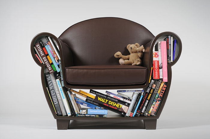 Hollow Book Chair