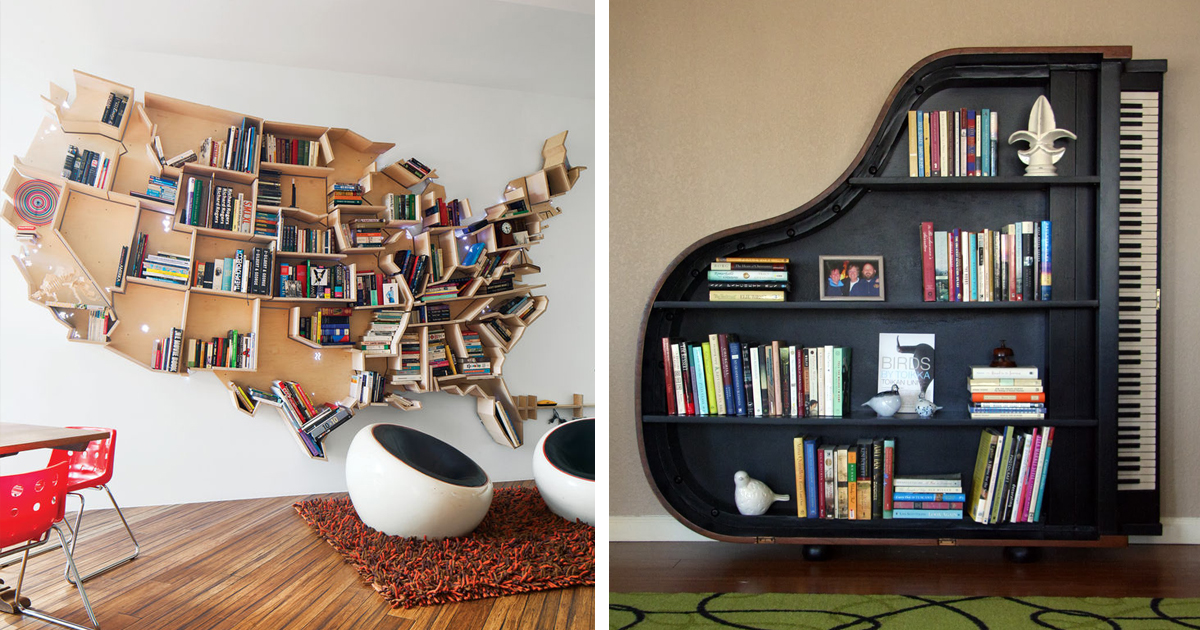 & 20+ Of The Most Creative Bookshelves Ever | Bored Panda