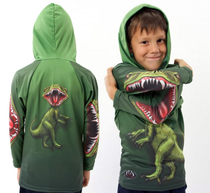 Roar Dinosaur Hoodie
