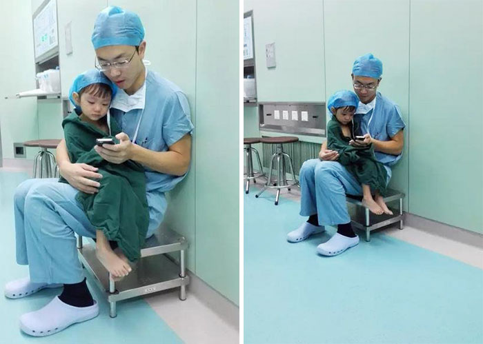 doctor-comforts-girl-cartoons-operation-china-shi-zhuo-2