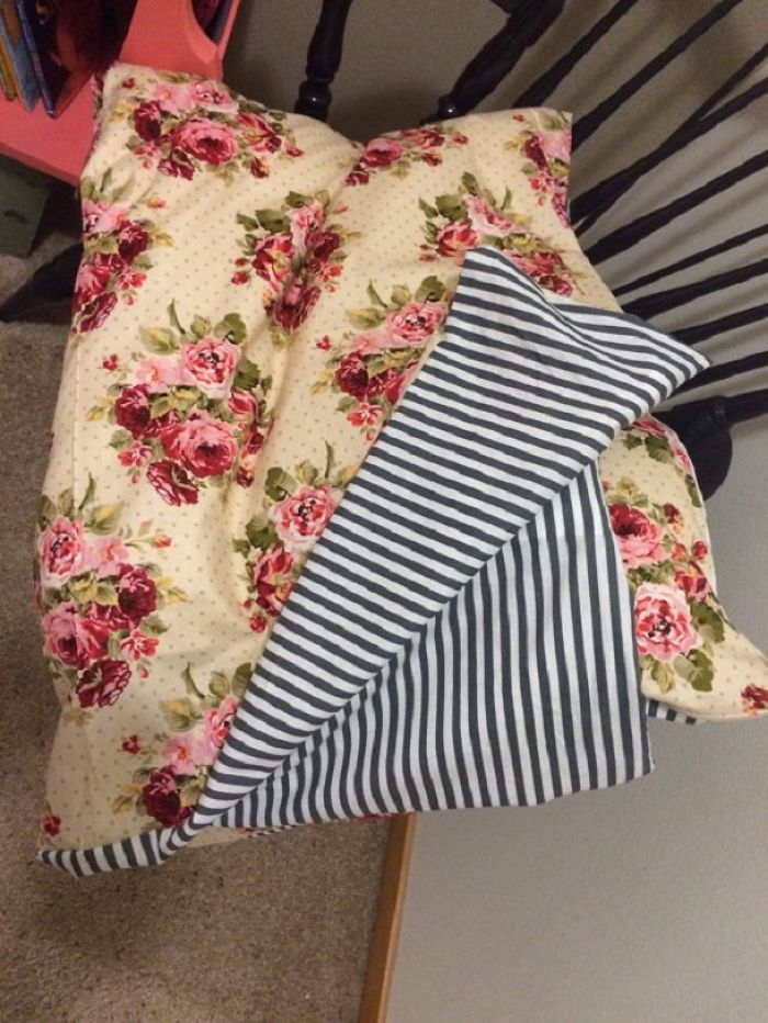 Reversible Duvet Cover For Cribs