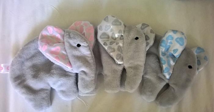 Elephant Baby Comforter/taglet