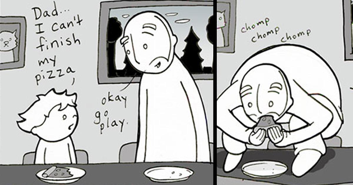 Crazy World Mom Son Cartoon