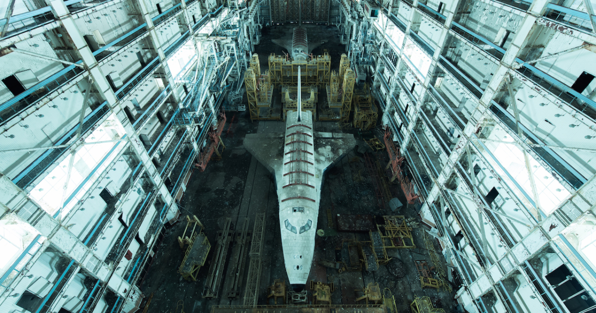 I Sneak Into Abandoned Soviet Buildings To Photograph Them Frozen In Time