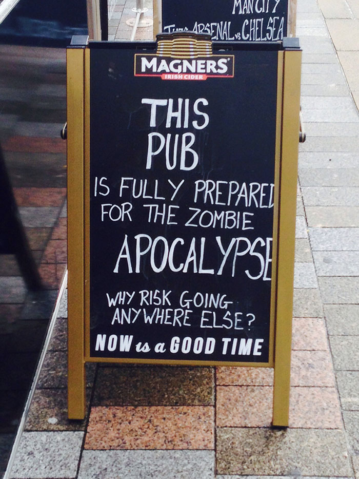 Sign At My Local Pub, Good Advertising