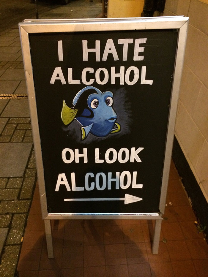 I Saw This Sign Last Night