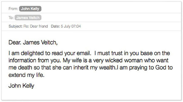Funny Spam Email Reply Conversations James Veitch