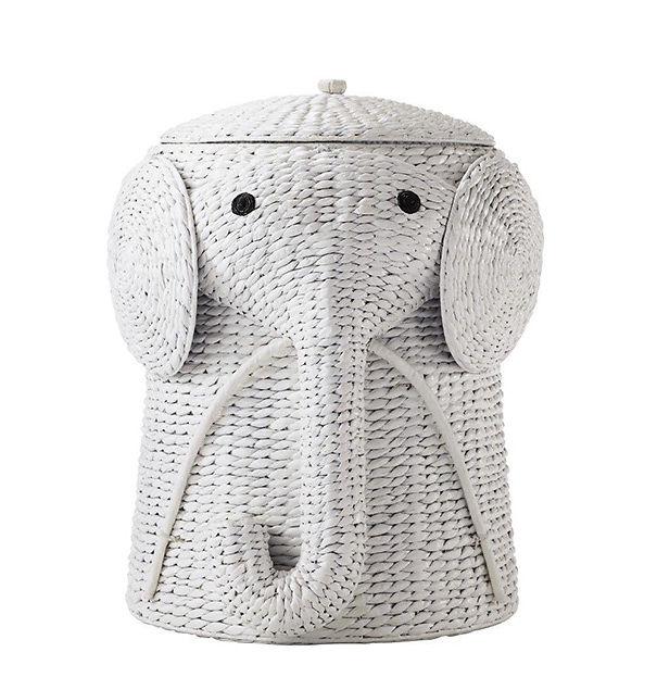 Elephant Laundry Hamper