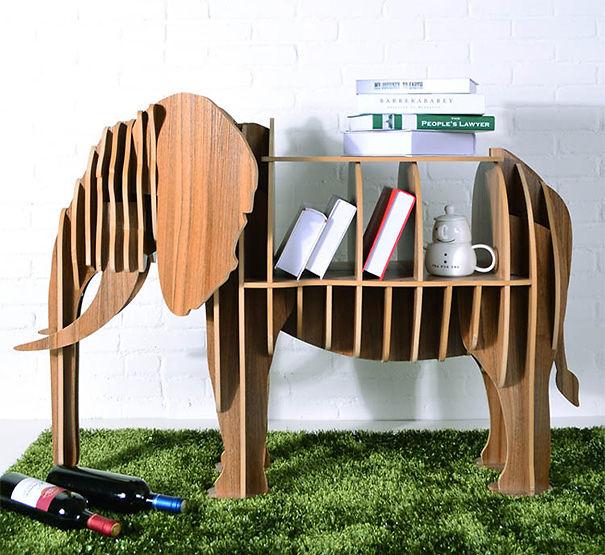 Elephant Bookshelf