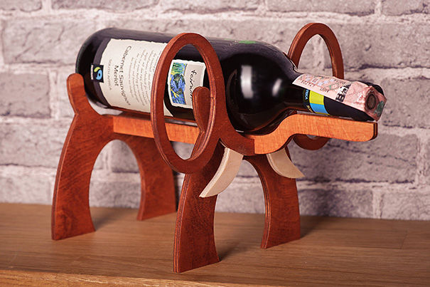15 things every elephant lover needs in their life - Elephant wine bottle holder ...