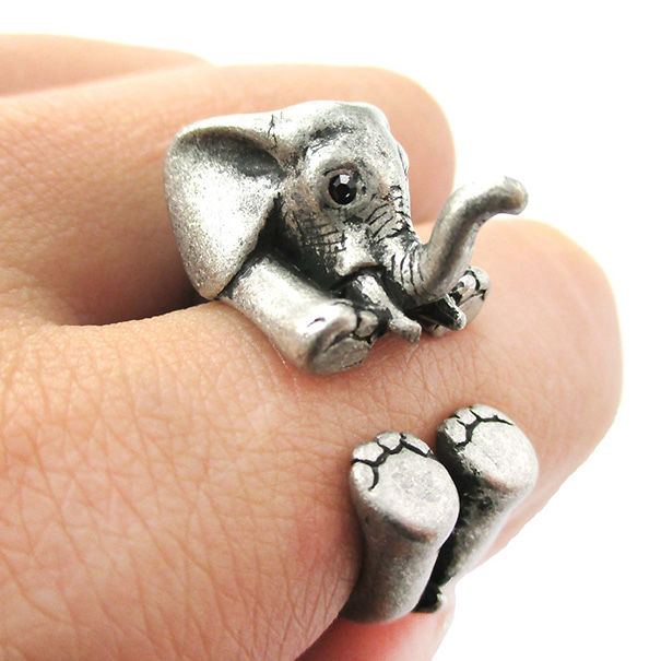 15 things every elephant lover needs in their life bored panda 2 elephant ring negle Choice Image