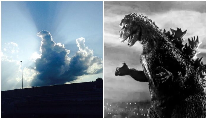 This Cloud Looks Like Godzilla