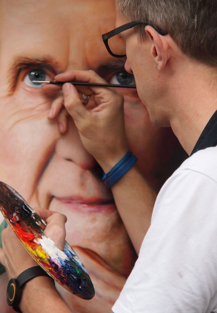 Realistic Portraits From Holland